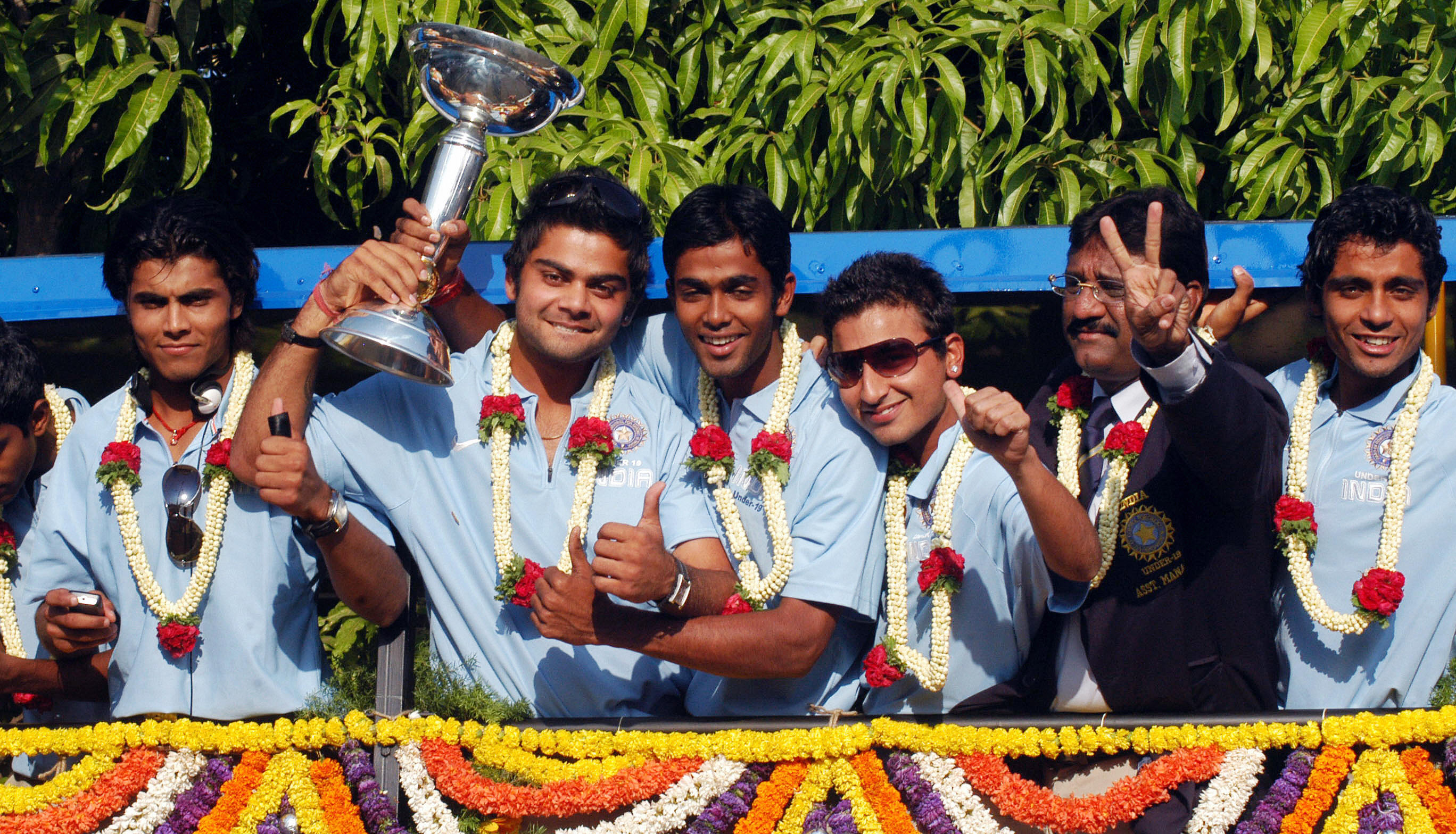 Virat Kohli led India to the ICC Under 19 World Cup title in 2008.