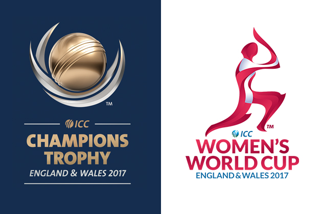 ICC Champions Trophy 2017 Logo and Women's World Cup 2017 Logo