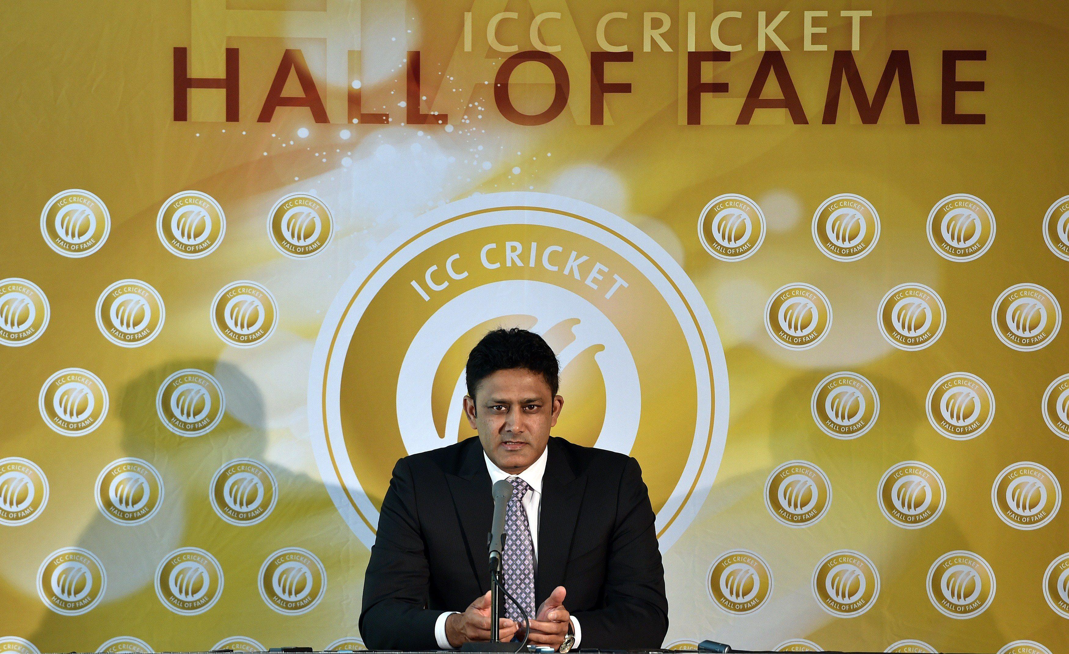 Anil  Kumble - ICC Hall of Fame