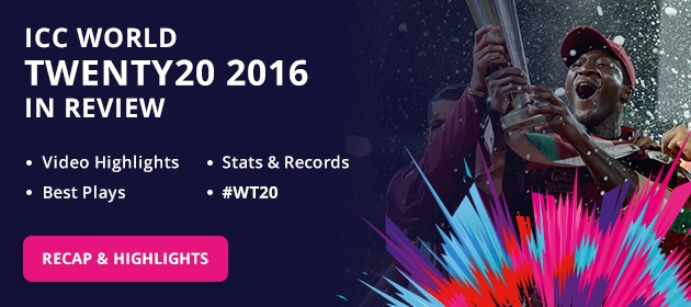 ICC World Twenty20 India 2016 - Home Page 630 x 280