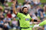 Not thinking of India yet, says Afridi