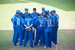 Clarke and McCullum lead congratulations for Afghanistan