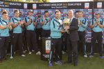 Alan Isaac congratulates Scotland on second ICC CWCQ title