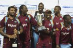 West Indies rides on Ramdin blitz in 3-0 sweep