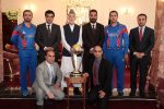 President Karzai hosts ICC Cricket World Cup 2015 trophy in Kabul