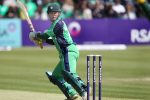Ireland survives scare for three-wicket win
