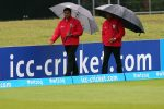 Ireland finishes third after washout