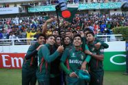 Bangladesh in delirium as Under-19 boys make last four - Cricket News