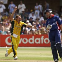 Bichel's Brilliance sends England crashing out in '03