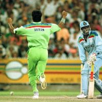 Akram shines under Melbourne sky in '92