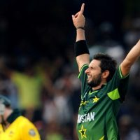 Afridi goes boom-boom with the ball in 2011