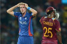Charles and Gayle see off England despite Morgan heroics - Cricket News