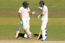 Rahul, Rohit steady India's reply - Cricket News