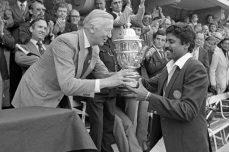 India claim sensational triumph in 1983 final