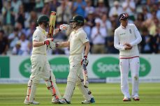 Australia on top as Rogers, Smith score centuries - Cricket News