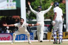 Batsmen build on Mishra's four as India edges ahead - Cricket News