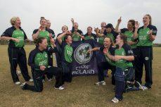 Ireland Women win title after last-ball finish