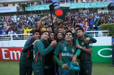 Bangladesh in delirium as Under-19 boys make last four