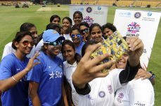 Children bat for health with cricket stars - Cricket News