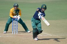 Strong batting takes South Africa to second warm-up win
