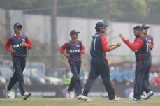 Vesawkar, Bhandari help Nepal to its first win in the WCL - Cricket News
