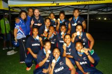 Samoa's golden girls go for glory at home - Cricket News