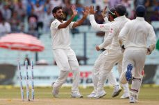 Five-star Bhuvneshwar powers India - Cricket News