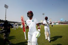 West Indies edges ahead after Brathwaite, Holder heroics - Cricket News