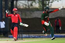 Patel five sets up tight win for Kenya - Cricket News