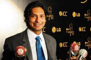 Kumar Sangakkara claims the LG People's Choice Award for the second year in a row - ICC Awards