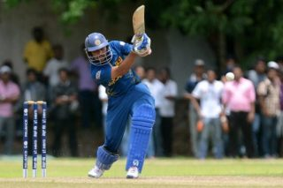 Tillakaratne Dilshan plays a shot during the warm-up match against West Indies. - ICC T20 News