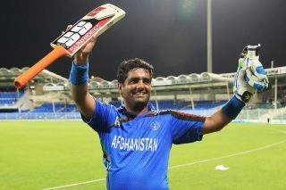 Mohammad Shahzad remained unbeaten at 43 off just 22 balls to take Afghanistan to victory. - ICC T20 News
