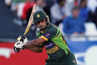 Mohammad Hafeez guided Pakistan to a victory over Afghanistan. - ICC T20 News