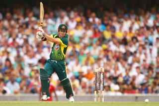 David Warner of Australia in action. - ICC T20 News