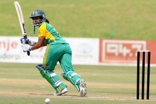 Trisha Chetty added 61 for the first wicket with Lizelle Lee. - ICC T20 News