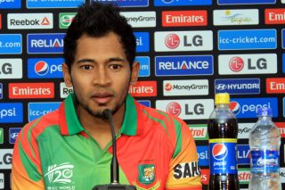 Mushfiqur Rahim at a press conference ahead of the World Twenty20 that is due to start next week.  - ICC T20 News