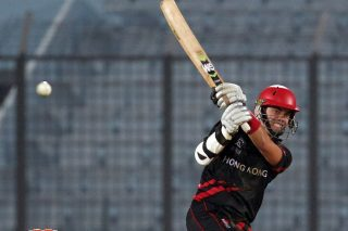Mark Chapman's 33-ball 53 helped Hong Kong to a four-wicket win over Zimbabwe. - ICC T20 News