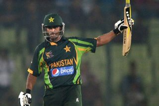 Mohammad Hafeez's 45-ball 55 helped Pakistan beat New Zealand by six wickets. - ICC T20 News