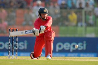 Zimbabwe captain Brendan Taylor felt toss played an important role.  - ICC T20 News