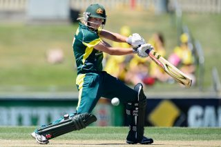 Meg Lanning scored 43 off 38 balls. - ICC T20 News