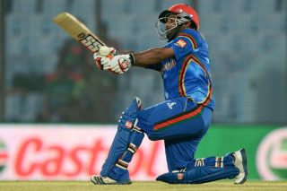 Mohammad Nabi was all praise for Mohammad Shahzad after the batsman scored 68 against Hong Kong. - ICC T20 News