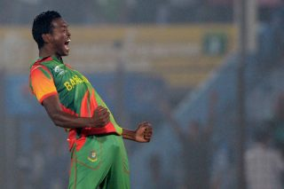 "Man of the Match Al-Amin Hossain says he has ""never faced such dew"" in his life - ICC T20 News"