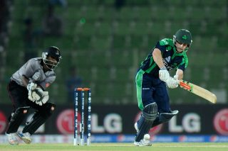 Ed Joyce of Ireland in action. - ICC T20 News