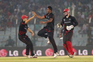 Nadeem Ahmed picked up 4 for 21 as Bangladesh was bowled out for 108. - ICC T20 News