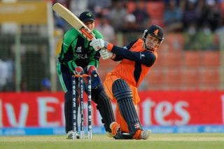 Stephan Myburgh led The Netherlands' match-winning chase. - ICC T20 News