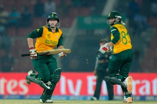 Lizelle Lee and Dane Van Niekerk collaborated for an unbeaten 163 run stand for the first wicket. - ICC T20 News