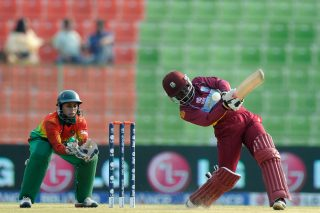 Deandra Dottin of West Indies bats during the ICC Women's World Twenty20 match between West Indies Women and Bangladesh Women. - ICC T20 News