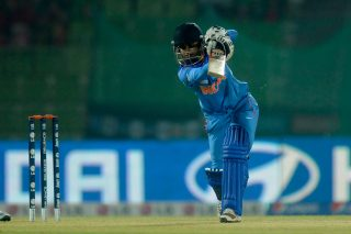 Mithali Raj, captain of India, in action. - ICC T20 News