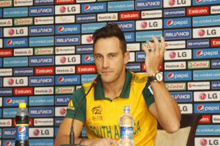 Du Plessis faces a one-match ban after second minor over-rate offence. - ICC T20 News