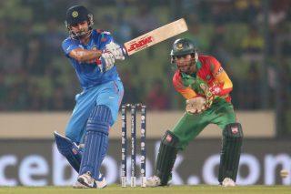 Virat Kohli plays a shot. - ICC T20 News